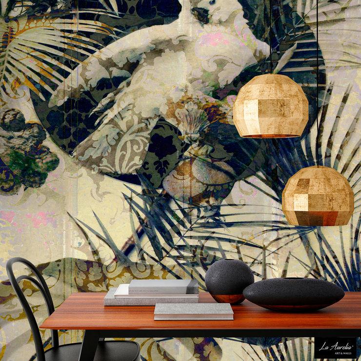 Exotic Wallpaper La Aurelia Walls & flooringWallpaper Yellow