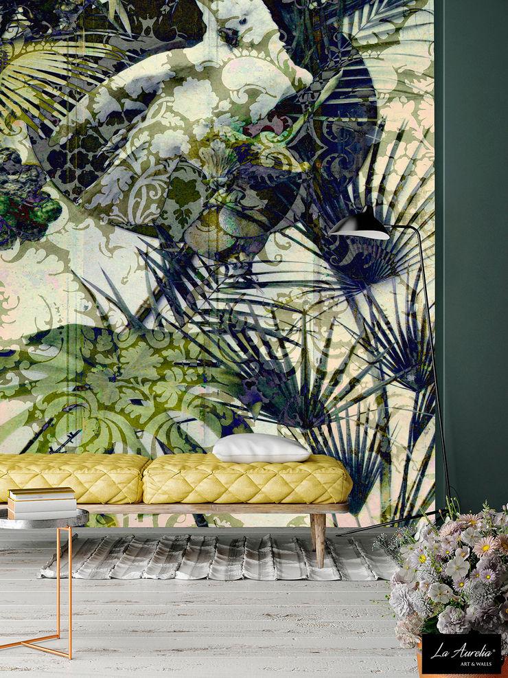 Exotic -Variation- Wallpaper La Aurelia Walls & flooringWallpaper Green