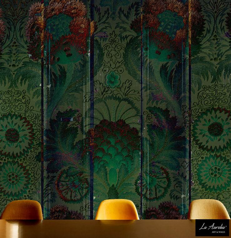 Oasis Wallpaper La Aurelia Walls & flooringWallpaper Green