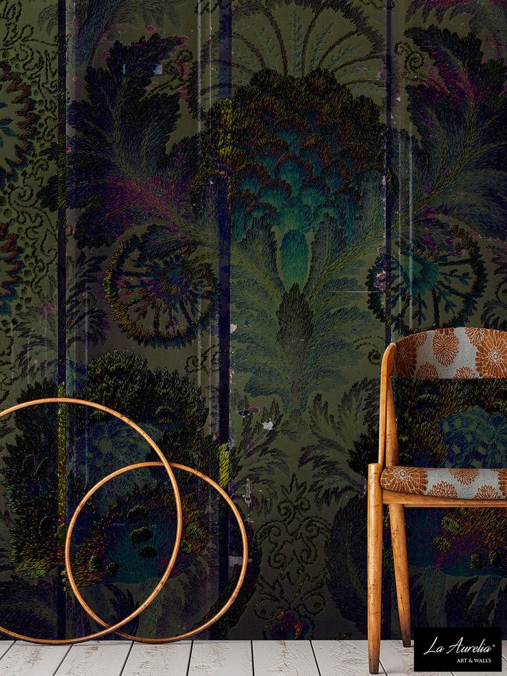 Oasis -Variation- Wallpaper La Aurelia Walls & flooringWallpaper Green