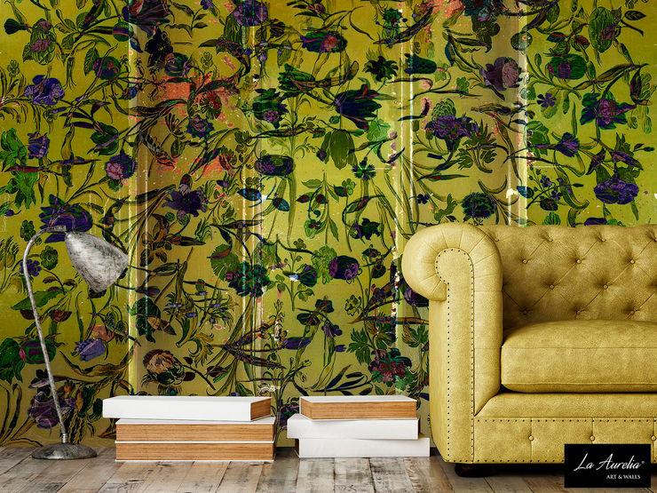 Summer Joy - Wallpaper La Aurelia Walls & flooringWallpaper Yellow