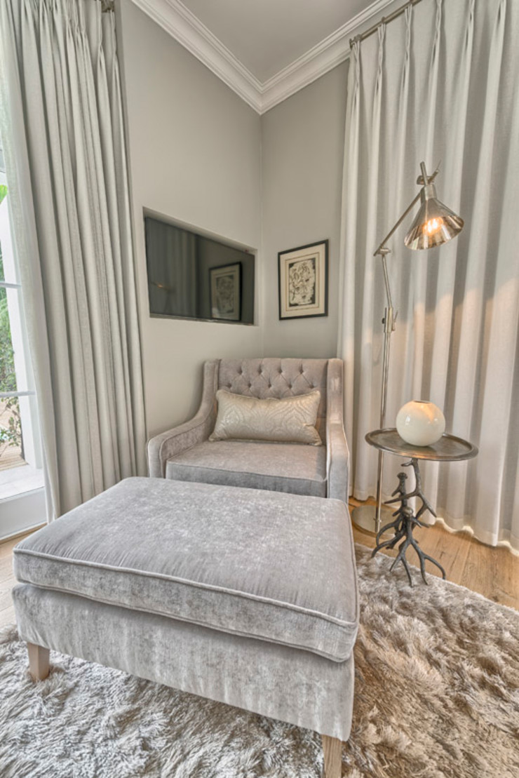 House Couture Interior Design Studio Eclectic style bedroom