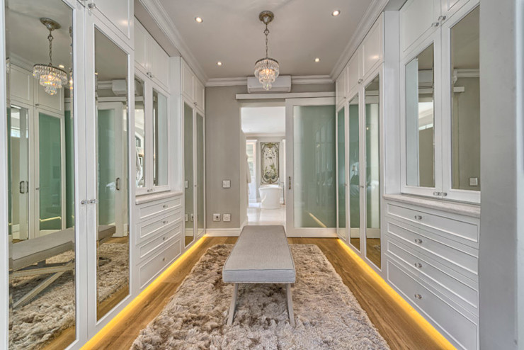 House Couture Interior Design Studio Eclectic style dressing room