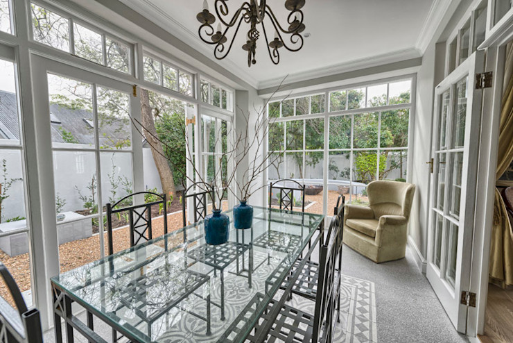 House Couture Interior Design Studio Eclectic style dining room