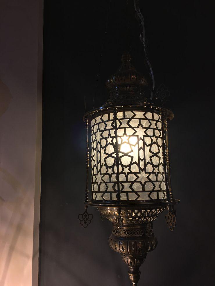Moroccan Hanging Lantern CCco Interiors Corridor, hallway & stairsLighting Metal Metallic/Silver