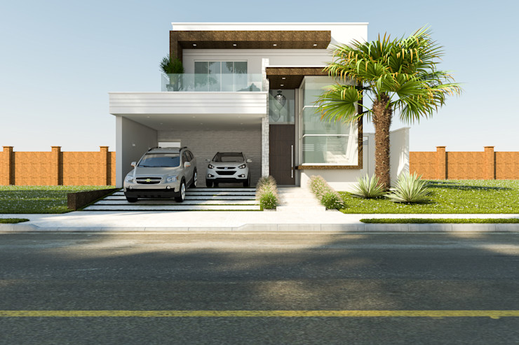 Daniele Galante Arquitetura Modern houses