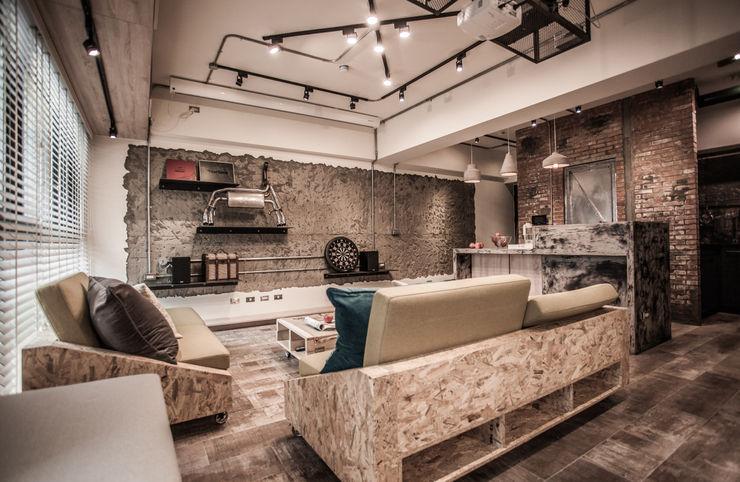 竹東 PC House 丰墨設計   Formo design studio 客廳