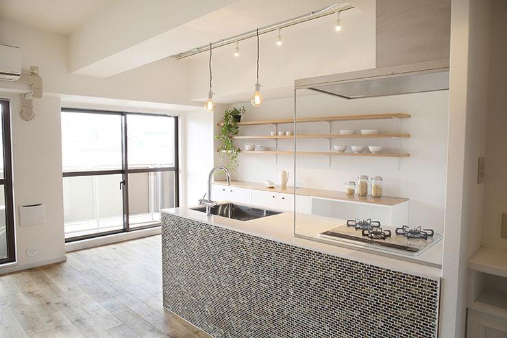 府中町の家Ⅱ SWITCH&Co. オリジナルデザインの キッチン