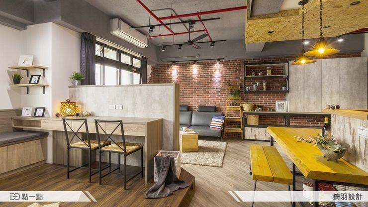 錡羽室內設計 homify Living room