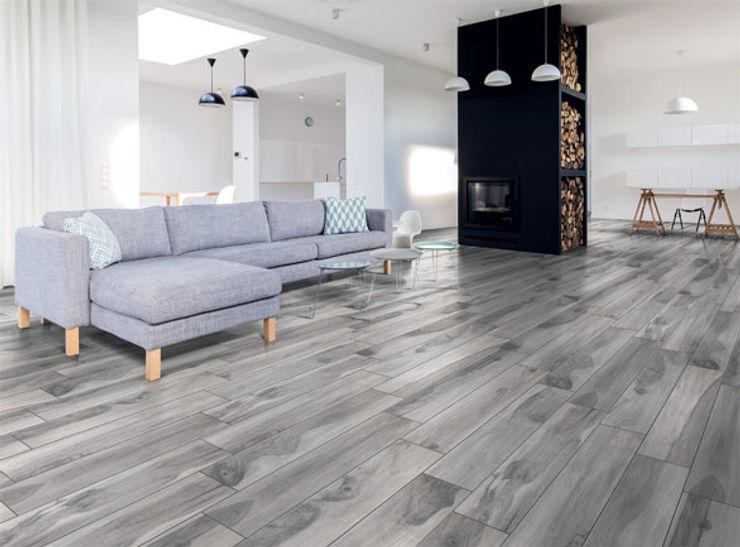 Plank Grey Target Tiles Walls & flooringTiles Porcelain Wood effect