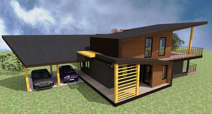 GerSS Arquitectos 現代房屋設計點子、靈感 & 圖片