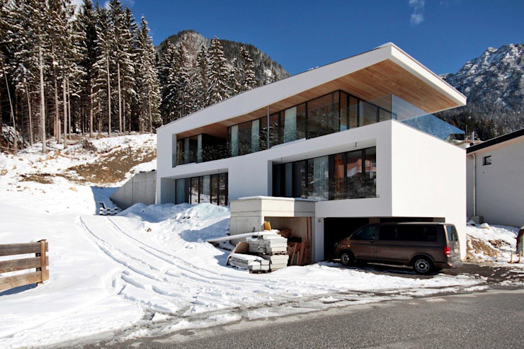 EINFAMILIENHAUS HND BESTO ZT GMBH_ Architekt DI Bernhard Stoehr Moderne Häuser