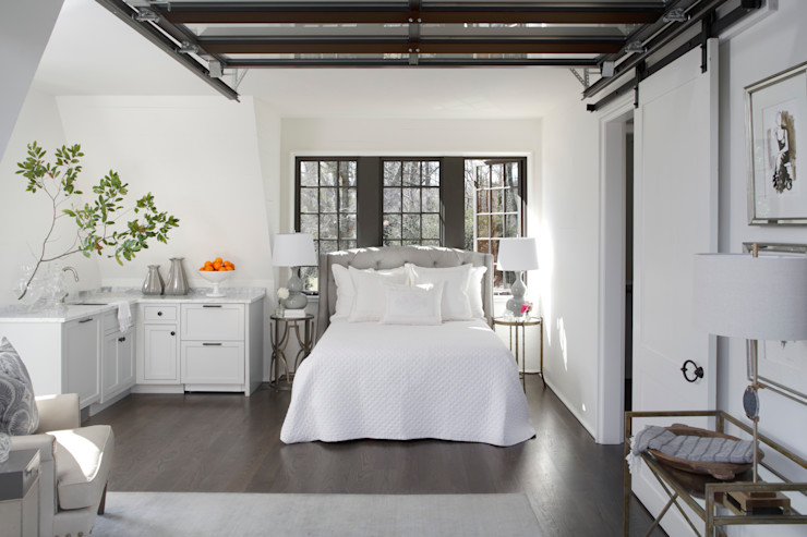 Christopher Architecture & Interiors Eclectic style bedroom