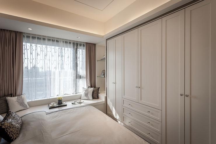 收藏精品宅 你你空間設計 Classic style bedroom Wood White
