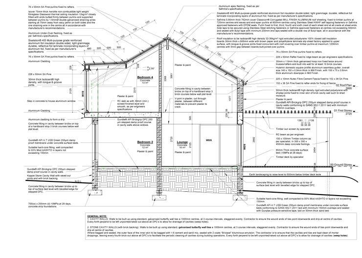Section Architects Unbound (Pty) Ltd. Minimalist house