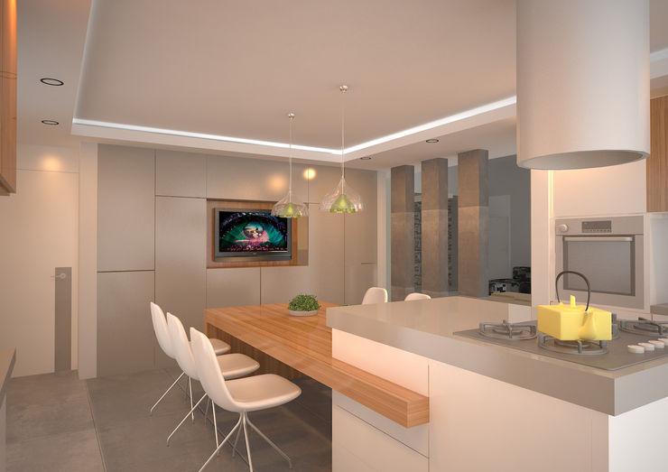 ARKIZA 現代廚房設計點子、靈感&圖片