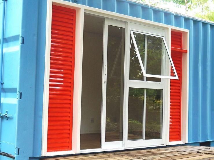 homify Eclectic style windows & doors Aluminium/Zinc White