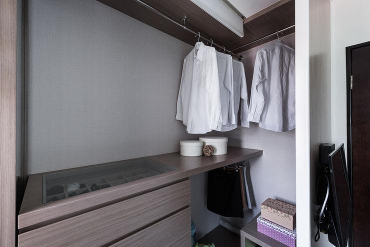 更衣間 你你空間設計 Scandinavian style dressing room