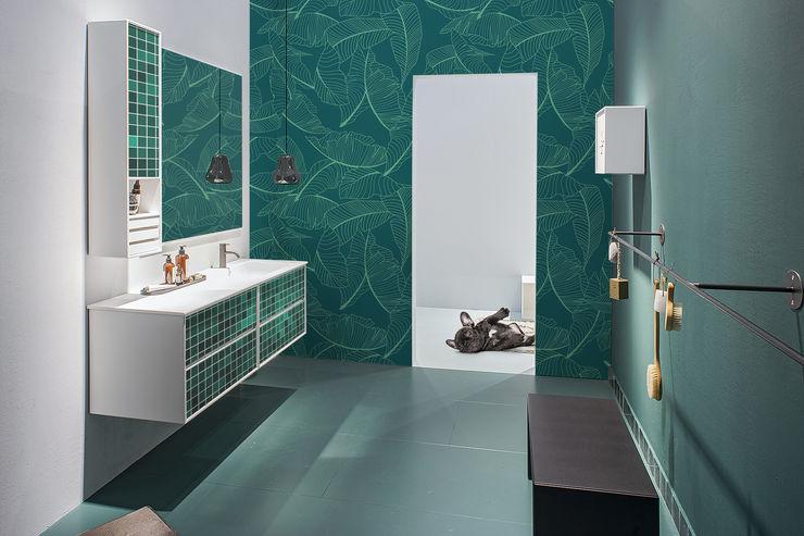 LOOKING THROUGH THE GREEN EYE Pixers Ванна кімнатаПрикраса