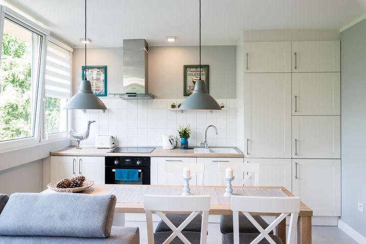 jw architektura Scandinavian style kitchen