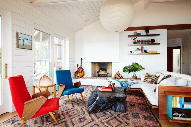 Old Montauk Highway House SA-DA Architecture Modern Living Room