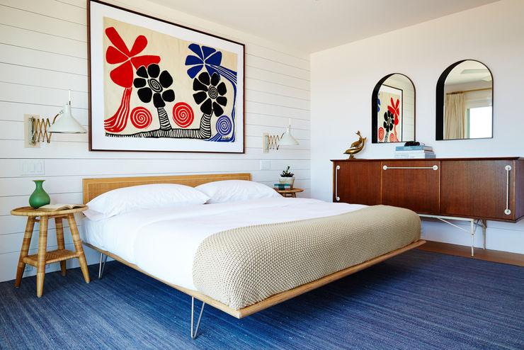 Old Montauk Highway House SA-DA Architecture Modern Bedroom