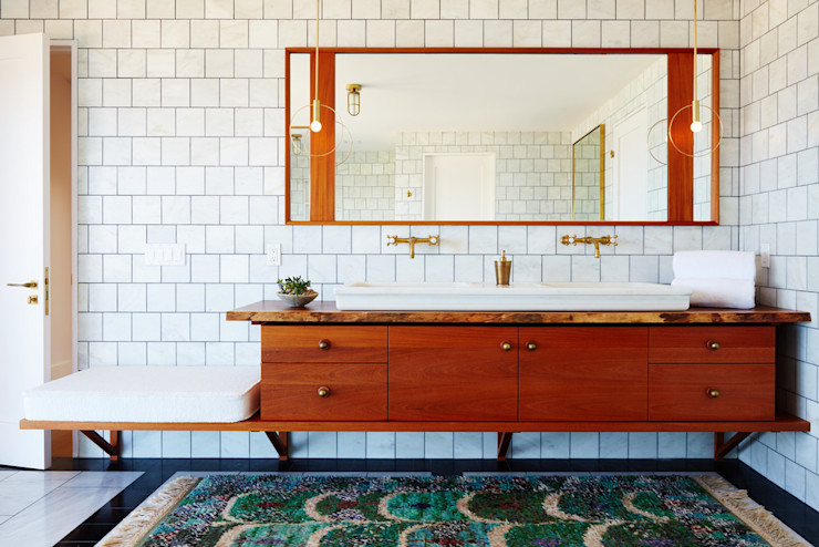 Old Montauk Highway House SA-DA Architecture Modern Bathroom