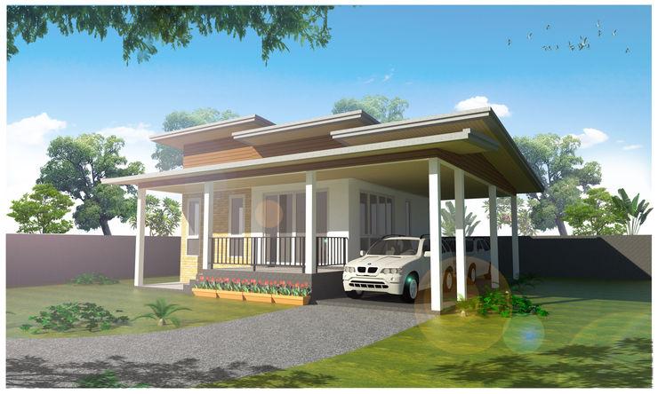 บ้าน 1 ชั้น 2 ห้องนอน 1 ห้องน้ำ JG DESIGN [IDLine]pramot67