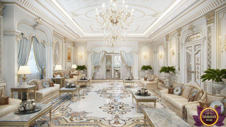 Luxury living room of Katrina Antonovich Luxury Antonovich Design Living room