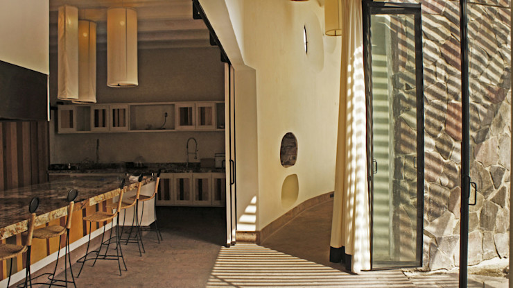 Juan Carlos Loyo Arquitectura الممر الحديث، المدخل و الدرج