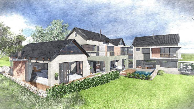 House Perregil Kraft Architects Modern houses