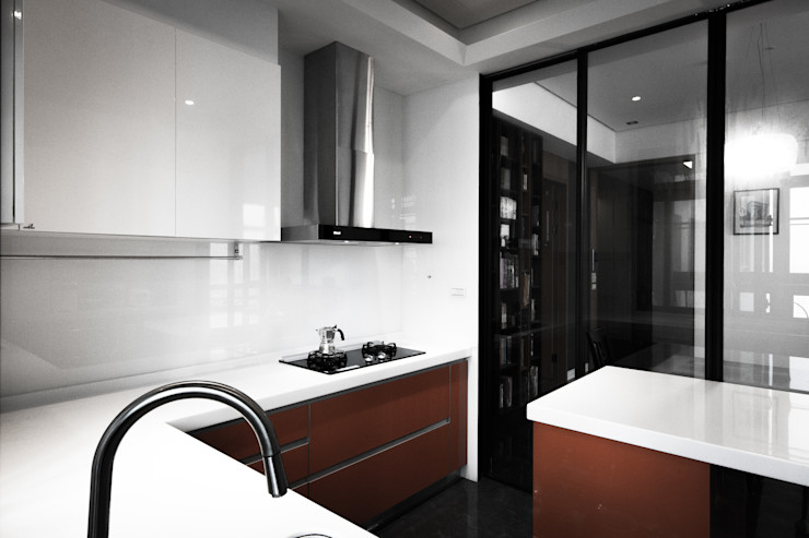 BRAVO INTERIOR DESIGN & DECO SIMPLY STYLE 璞碩室內裝修設計工程有限公司 Modern kitchen
