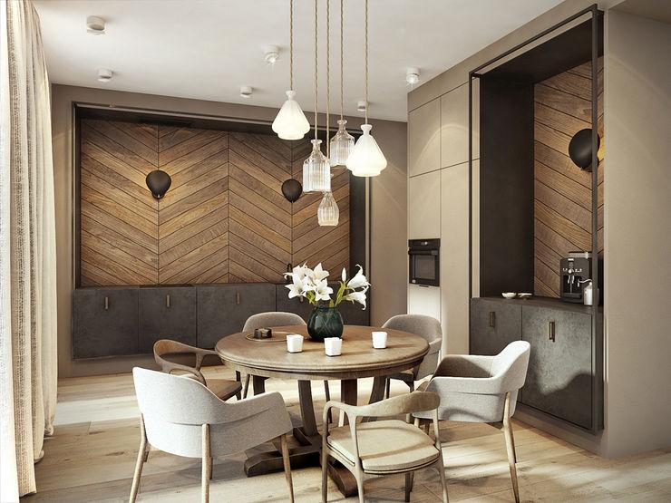 razoo-architekci Eclectic style kitchen