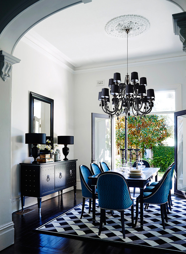 Conexo. Dining roomChairs & benches Solid Wood Blue