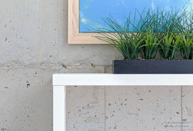 Chibi Moku Architectural Films غرفة نوم أسمنت Grey