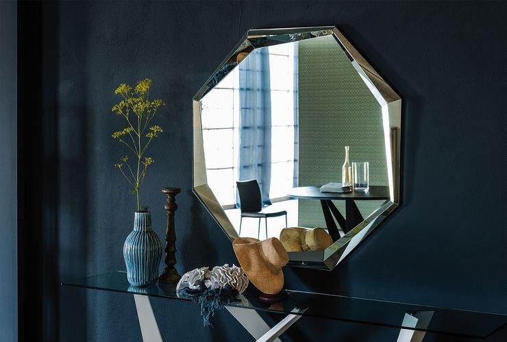 EMERALD IQ Furniture SoggiornoAccessori & Decorazioni Vetro Metallizzato/Argento