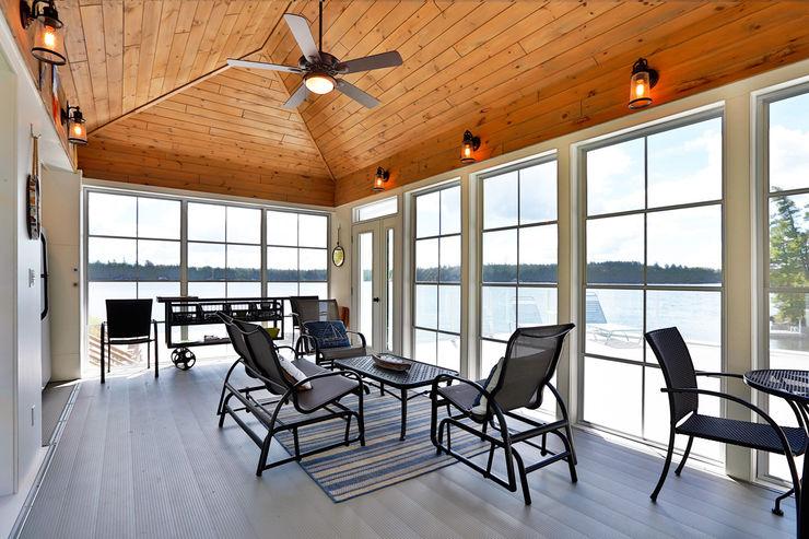 Lake of the woods cottage boat house Unit 7 Architecture Multimedia roomFurniture