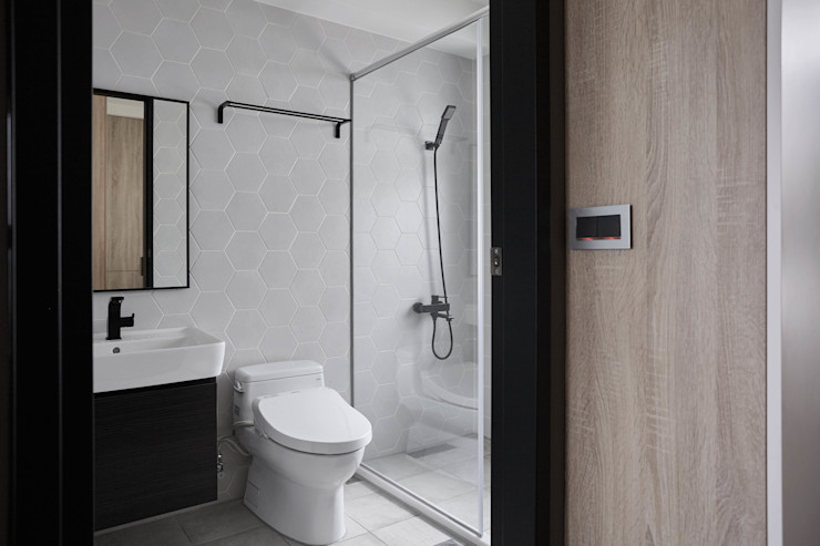 TOUGH INN 寬度 空間設計整合 現代浴室設計點子、靈感&圖片