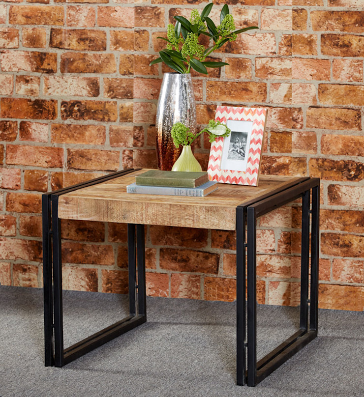Cosmo Cart Industrial Table Industasia Living roomSide tables & trays