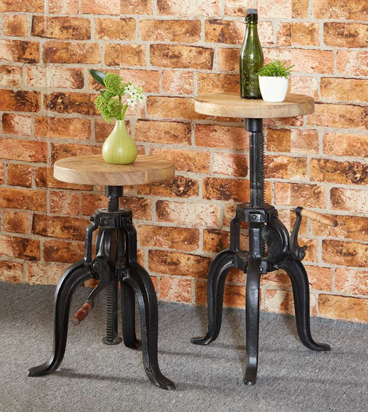 Cosmo Industrial Stool Industasia Dining roomChairs & benches