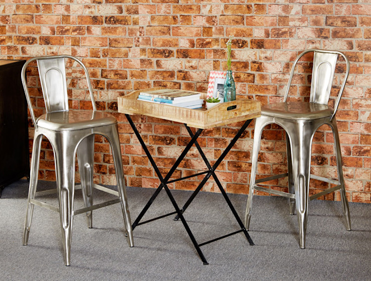 Cosmo Industrial Table Industasia Living roomSide tables & trays