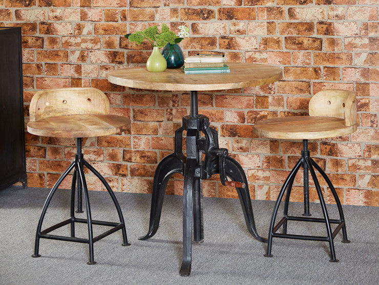 Cosmo Industrial Table Industasia Dining roomTables