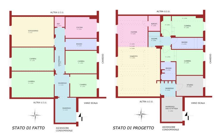 PLANIMETRIA DI PROGETTO Andrea Orioli
