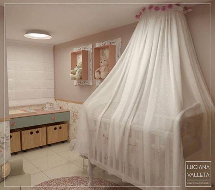 LUCIANA VALLETA - Arquitetura e Interiores Modern Kid's Room Pink
