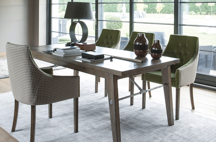 Conexo. Dining roomChairs & benches Solid Wood Wood effect