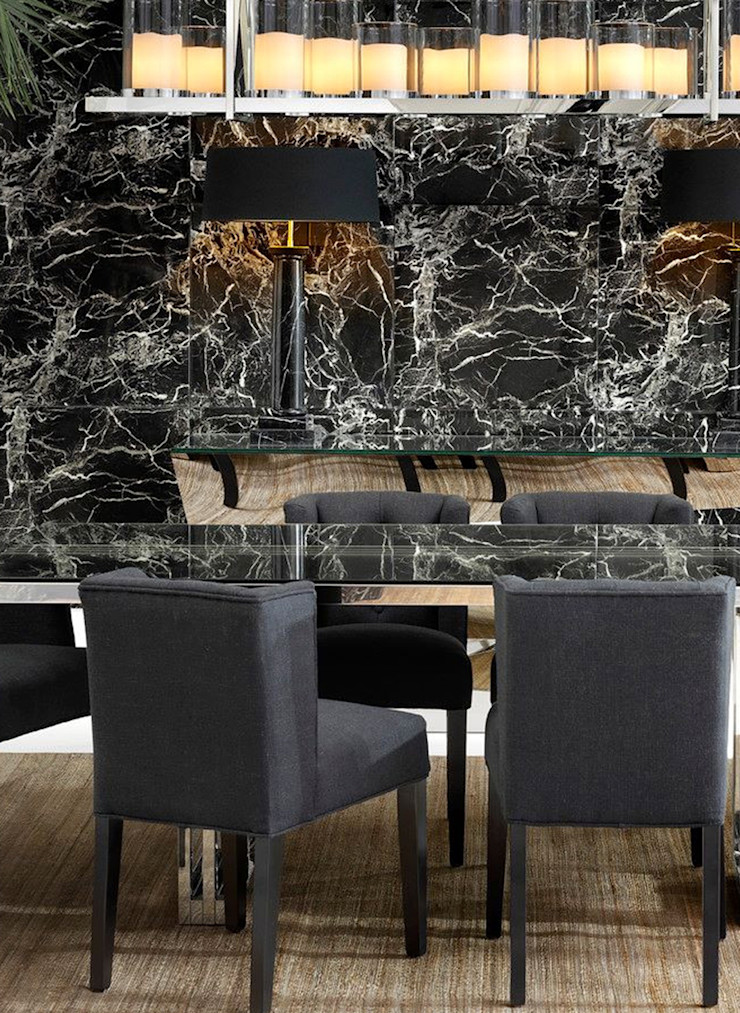 Conexo. Dining roomTables Glass Transparent