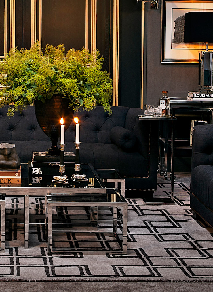 Conexo. Living roomAccessories & decoration Textile Black