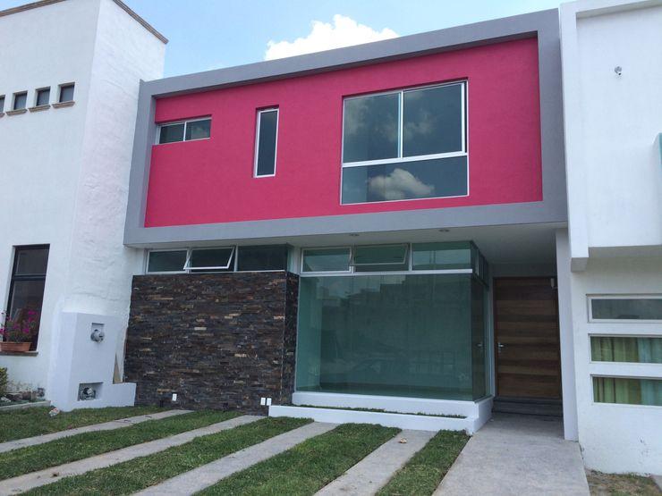 Fachada Base-Arquitectura Casas de estilo minimalista