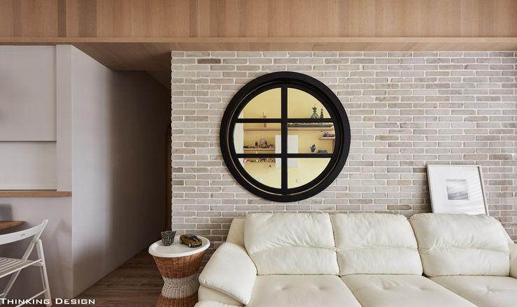 思維空間設計 Ruang Keluarga Minimalis