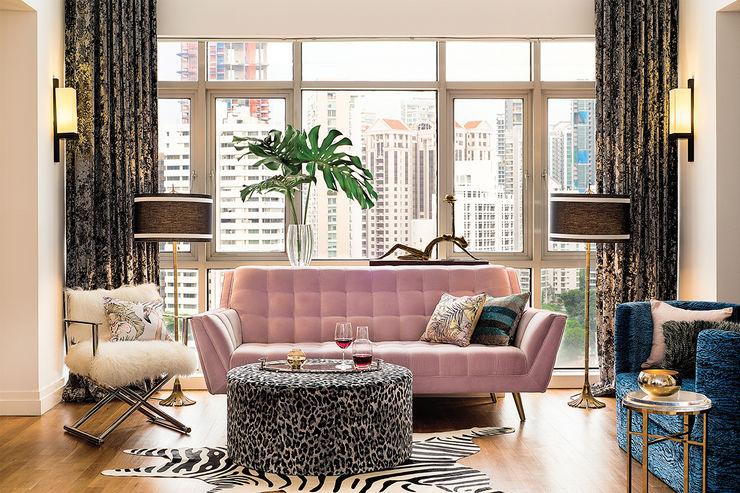 Design Intervention Ruang Keluarga Modern